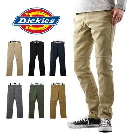 Dickies ディッキーズ TCストレッチ ナローパンツ / メンズ パンツ チノパン スリムパンツ ワークパンツ WD5882 DK000003