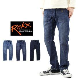 ROKX ロックス DENIM FATIGUE PANT デニム ファティーグ パンツ / メンズ クライミングパンツ イージーパンツ RXMS191008