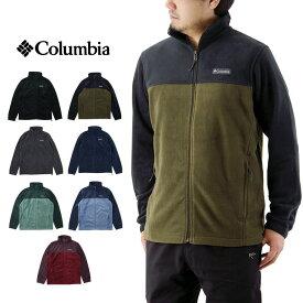 Columbia コロンビア STEENS MOUNTAIN FULL ZIP 2.0 スティーンズ マウンテン フルジップ フリース ジャケット / メンズ アウター 無地 アウトドア WE3220