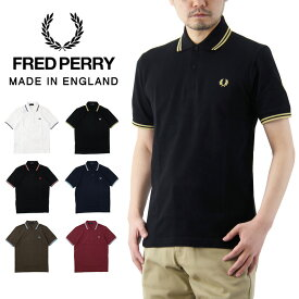 【SALE 30%OFF】【送料無料】 FRED PERRY フレッドペリー The Original Twin Tipped Fred Perry Shirt ザ オリジナル ツイン ティップ フレッドペリー ポロシャツ /メンズ トップス 半袖 Made in ENGLAND 英国製 M12N