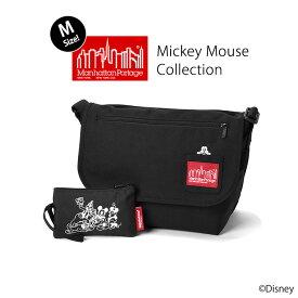 Manhattan Portage マンハッタンポーテージ [ Mickey Mouse Collection ミッキーマウス コレクション ] Casual Messnger Bag カジュアル メッセンジャーバッグ (Mサイズ) / メンズ レディース ショルダーバッグ MP1606JRMIC19