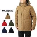 Columbia コロンビア MURQUAM PEAK JACKET マーカム ピーク ジャケット / メンズ アウター 中綿ジャケット フェイクファー 撥水 WE1250