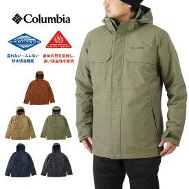Columbia コロンビア CLOVERDALE INTERCHANGE JACKET クローバーデイル インターチェンジ ジャケット / メンズ アウター 3WAY オムニテック オムニヒート 中綿 防水透湿 WE1489