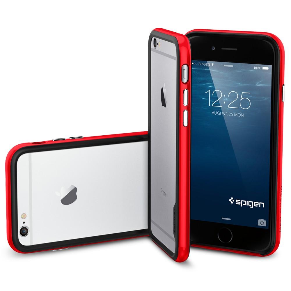 iPhone 6 (4.7) ケース Spigen Neo Hybrid EX Dante Red SGP11025/在庫有り/ アイフォン シックス スマホケース カバー レッド バンパー【スマホ・タブレットのアクセサリー専門店 スマートフォンアクセサリー スマートフォンケース スマホケース 】おしゃれ
