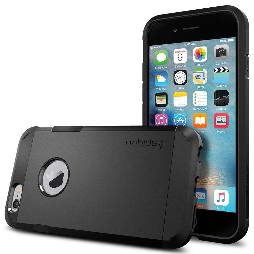 iPhone 6s / iphone6 ケース SPIGEN タフ・アーマー ブラック SGP11614 /在庫あり/ スマホケース アイフォーン シックスエス black【スマホ・タブレットのアクセサリー専門店 スマートフォンアクセサリー スマートフォンケース スマホケース フューチャモバイル】おしゃれ