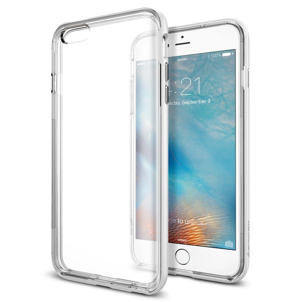 送料無料 iPhone 6s Plus / iphone6 plus ケース spigen ネオ・ハイブリッド EX シマリー ホワイト SGP11671 /在庫あり/ アイフォン シックスエス スマホケース カバー shimmery white【スマートフォンケース スマホケース フューチャモバイル】おしゃれ