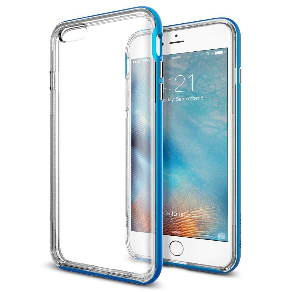 送料無料 iPhone 6s Plus / iphone6 plus ケース spigen ネオ・ハイブリッド EX エレクトリック ブルー SGP11670 /在庫あり/ アイフォン シックスエス スマホケース カバー electric blue【スマートフォンケース スマホケース フューチャモバイル】おしゃれ