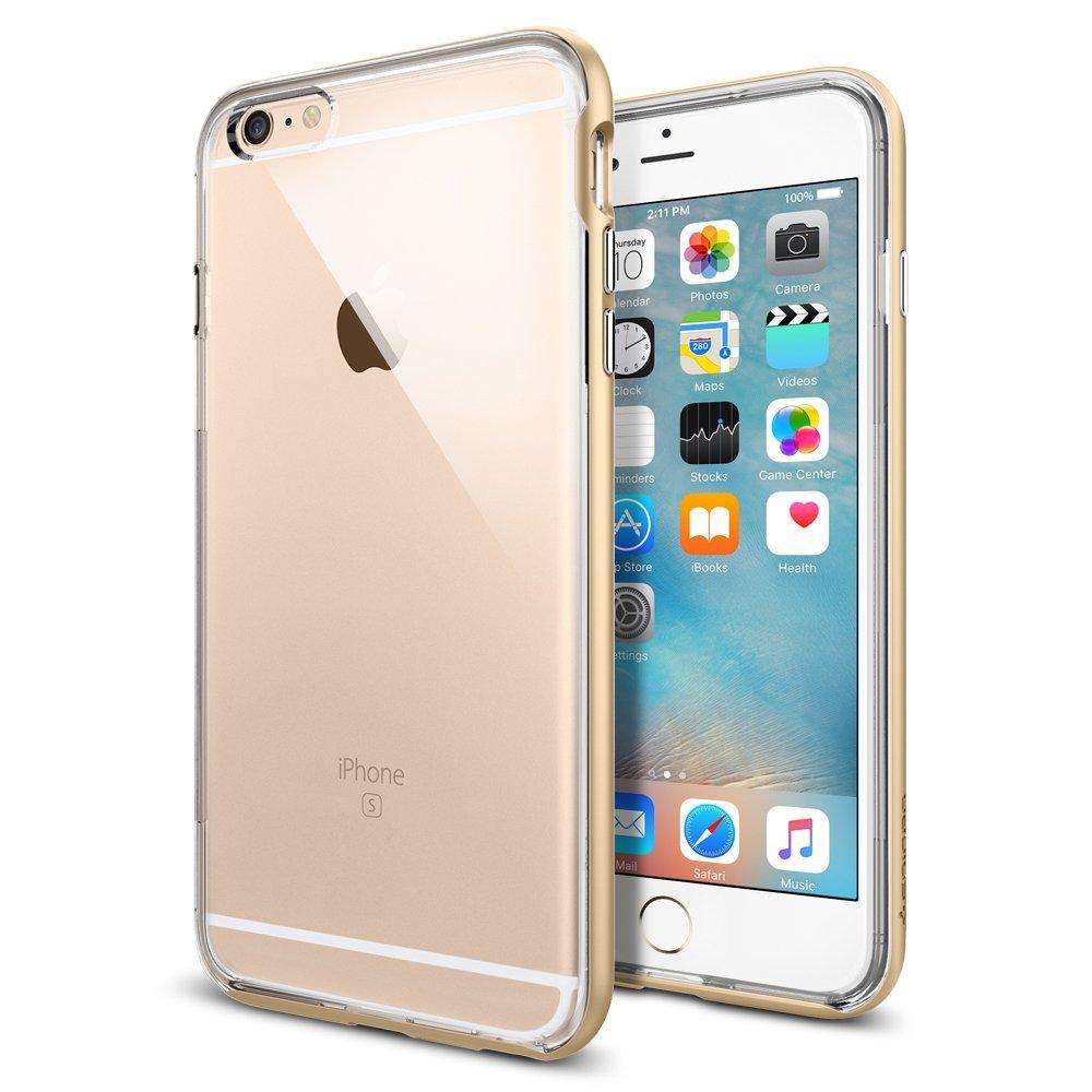 iPhone 6s Plus / iphone6 plus ケース spigen ネオ・ハイブリッド EX シャンパン ゴールド SGP11669 /在庫あり/ アイフォン シックスエス スマホケース カバー champagne gold【スマートフォンケース スマホケース フューチャモバイル】おしゃれ