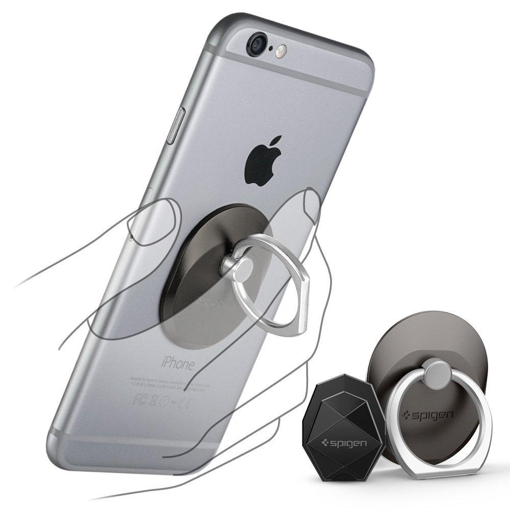 送料無料 スマートフォン リング spigen Style Ring スペースグレイ 000EP20243 /在庫あり/ スマホ スタンド 車載ホルダー iphone SE iphone6s【スマホ・タブレットのアクセサリー専門店 スマートフォンアクセサリー スマートフォンスタンド フューチャモバイル】