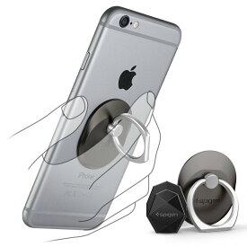 送料無料 スマートフォン リング spigen Style Ring スペースグレイ 000EP20243 /在庫あり/ スマホ スタンド 車載ホルダー iphone SE iphone6s