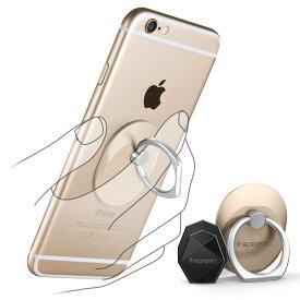 送料無料 スマートフォン リング spigen Style Ring シャンパンゴールド 000EP20244 /在庫あり/ スマホ スタンド 車載ホルダー iphone SE iphone6s