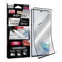 Galaxy Note 10+ SC-01M SCV45 高性能 保護フィルム 「PTEC」 9H 全面保護 超透明 LP-19WG1F9HF /在庫あり/ ギャラクシーノート 液晶保護 指紋