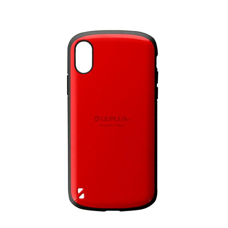アイフォンx iphone10 (5.8) ケース レッド LEPLUS 耐衝撃ハイブリッドケース「PALLET」 LP-I8HVCRD /在庫あり/ 送料無料 iphoneX 赤 【スマートフォン用ケース カバー スマホカバー フューチャモバイル】おしゃれ