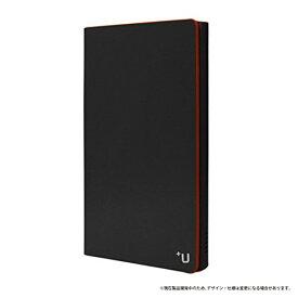 送料無料 dtab Compact d-02H ケース【+U】ジェームス タブレットケースカバー ブラック LP-D02HLFJBK/ 在庫あり/ ドコモ タブレット コンパクト ケースカバー d02h【タブレットケースカバー 】