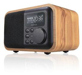 ワイヤレススピーカー Bluetooth対応 「Classics」 ナチュラル ウッド調 LP-SPBT02NT /在庫あり/ 送料無料 USB充電式 ミニリモコン付属 MP3データ再生可能 木目