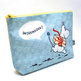 ムーミン ポーチ ムーミン 水色 MO-PO019 /在庫あり/ ペンケース moomin【ポシェット 】おしゃれ