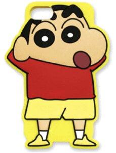 クレヨンしんちゃん iPhone7シリコンケース ( しんちゃん黄色 ) KS-IC010 / 在庫あり/ スマホケース アイフォーン7 アニメ カバーおしゃれ
