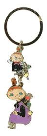 送料無料 ムーミン キーリング ( リトルミイ&ミムラ ) MO-KR023 /在庫あり/ アニメグッズ 小物 北欧 フィンランド Moominvalley