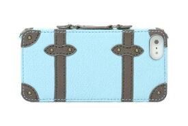 Trolley Case Hard for iPhone5s iphone5 トローリー ケース ハード DCI-12TH-IBL / アイスブルー アイフォン5s iphone SE おしゃれ 大人可愛い スマホケース