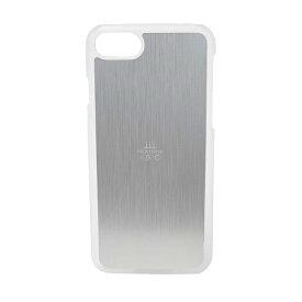 iPhone8 (4.7)/ iphone7 アルミ ケース silver 熱いスマホを -5℃ 冷ますケース クリア x シルバー HS5C-87-CS /在庫あり/ 送料無料 サンハヤト アイフォン8 銀 スマホケース おしゃれ