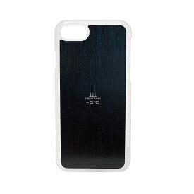 iPhone8 (4.7)/ iphone7 放熱スマホカバー 熱いスマホを -5℃ 冷ますケース クリア x ブラック HS5C-87-CB /在庫あり/ 送料無料 サンハヤト アイフォン8 黒 スマホケース おしゃれ