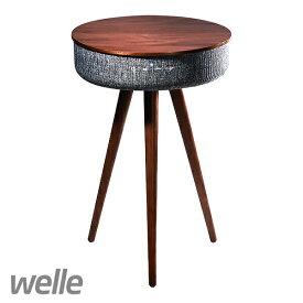 Welle Mellow Bluetooth テーブルスピーカー w301t /取寄 / 送料無料 Bluetooth 4.2 4つのスピーカーが内蔵 360°無線サウンド 13,000mAh大容量バテリー 88W高出力スピーカー