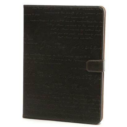 送料無料 iPad Air ケース Masstige Lettering Diary ディープカーキ Z2862iPA /在庫あり/ アイパッド エアー カバー ジャケット ipad air2【スマホ・タブレットのアクセサリー専門店 タブレットカバー ケース フューチャモバイル】おしゃれ