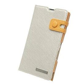 送料無料 Xperia A SO-04E用 レザージャケット 本革 Prestige Color Edge Diary ライトゴールド Z2090XAS / 在庫あり/ zenus ゼヌス docomoおしゃれ