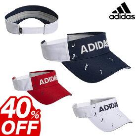 2019年モデル adidas アディダス ゴルフ XA170 ADICROSS モノグラムプリント バイザー (メンズ)