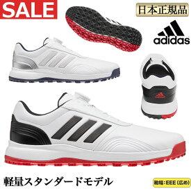 【SALEセール】 adidas アディダス ゴルフシューズ IG315 CP traxion SL BOA トラクション スパイクイレス ボア (メンズ)
