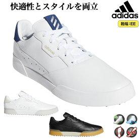 2020年モデル アディダス ゴルフシューズ EPC40 ADICROSS アディクロス レトロ [天然皮革 ・靴ひもタイプ・スパイクレス] (メンズ)