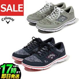 【SALEセール】 Callaway GOLF キャロウェイ ゴルフシューズ 0996502 SOLAIRE 20 ソレイユ20 スパイクレス 靴ひもタイプ (メンズ)