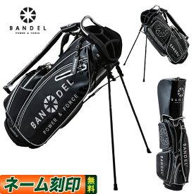 2019年 新作 BANDEL GOLF バンデル ゴルフ 2019 golfbag black ゴルフバッグ ブラック 19GBB スタンドバッグ キャディバッグ