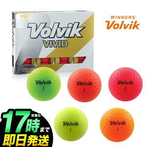 【SALE】日本正規品 FDR VOLVIK VIVID ヴォルヴィック ヴィヴィッド ゴルフボール 1ダース