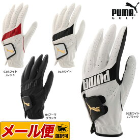 【日本正規品】2019年 PUMA GOLF プーマ ゴルフ 867771 3D パフォーマンス グローブ (メンズ) 【U10】