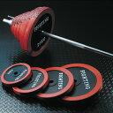 バーベル セット:ラバータイプ 100kgセット / 筋トレ ベンチプレス トレーニング器具 筋トレグッズ_バーゲン特価!