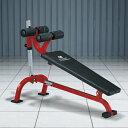クランチベンチ−TRUST / 腹直筋 内腹斜筋 ダンベル トレーニング シットアップ レッグレイズ 腹筋 筋トレ_バーゲン特価