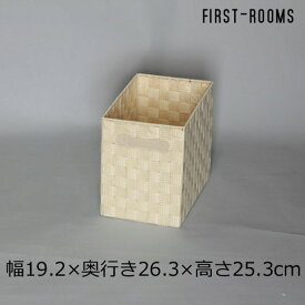 カラーボックス用ボックス 幅19.2×奥行き26.3×高さ25.3cm ナチュラル