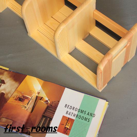 卓上本棚・スライドラック  幅40.2〜72×奥行20.4×高さ20cm ナチュラル