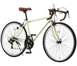 ロードバイク自転車700cシマノ21段変速スタンド付クラシックレトロNEXTYLEネクスタイルRNX-7021【組立必要品】【365日即日出荷対応商品】