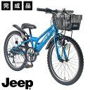 子供用自転車 ジュニアマウンテンバイク 完成品 20インチ 22インチ 24インチ CTB シマノ6段変速 カゴ 泥除け ダイナモ…