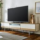 《送料無料》テレビ台 オーク 無垢 日本製 完成品 幅180 国産 木製テレビ台 TV台 テレビボード ロータイプ テレビ台 …