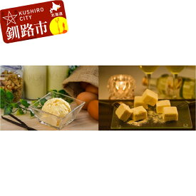 【ふるさと納税】アイスクリーム(バニラ)&チーズ生チョコセット Mi102-B010
