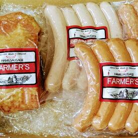【ふるさと納税】FARMER'S ベーコンとソーセージ3種セット