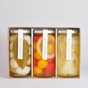 【ふるさと納税】やさしい米酢ピクルス3種セット(デザートトマト・サラタマ・うずら)