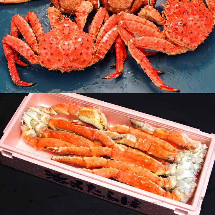 【ふるさと納税】【北海道加工】特大ボイル本たらば蟹 足 3kg