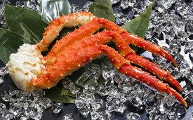 【ふるさと納税】ボイル冷凍 本タラバガニ脚 2Lサイズ 1kg