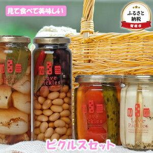 【ふるさと納税】田中青果 見て食べて美味しい ピクルスセット(1) 【漬物・野菜・セット・詰合せ・野菜・玉ねぎ・たまねぎ】
