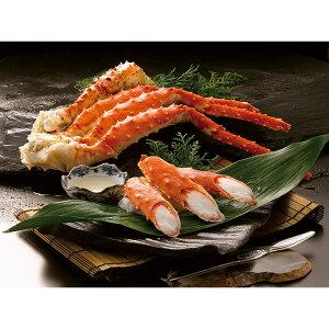 【ふるさと納税】【超特大・極太5Lサイズ】本たらば蟹ボイル脚1kg【08001】