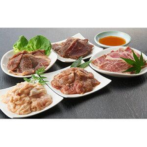 【ふるさと納税】今夜は焼肉!5種類の豪華焼肉ボリュームセット 【牛肉/ホルモン・羊肉・ラム肉・お肉・牛肉・焼肉・バーベキュー】